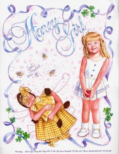 Honey Girl Paper Doll.This From skleindint1 - MaryAnn - Picasa Web Albums