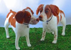 "Springer Spaniels - Needle Felted by Trish Veilleux ""i Felt That - Needle Felting by Trish"" on Facebook"