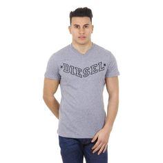 Grey XXXL Diesel mens t-shirt T-KRITIL 00SDG0 R091B 96X