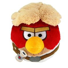 Peluche Angry Birds como Star Wars. Han Solo, 12cms