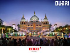 Visit Dubai Parks and Resorts on your next trip to Dubai. Experience a celebration of Mumbai's legendary film industry inspired by Bollywood blockbusters, enjoy live entertainment, stage performances and flamboyant cinematic rides in an experience unlike any other. Book your holiday with SOTC