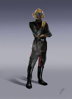 Kel-Dor alien from Star Wars