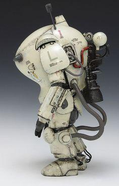 S.A.F.S Space Type Fireball from Machinen Krieger by Kow Yokoyama
