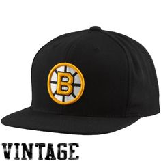 Mitchell & Ness #BostonBruins Basic #Vintage Logo Adjustable #Hat - features a throwback Boston Bruins logo embroidered on the crown. $ 25.95 http://www.newenglandusa.com/Boston-Bruins/boston-bruins-pro-shop.php
