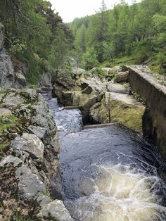 Salmon Ladder - Ballater, Scotland.