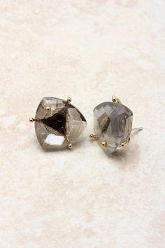 14K Black Diamond Earrings on Emma Stine Limited