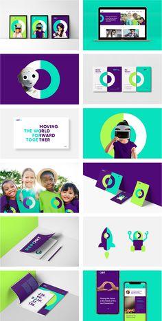 New logo and new identity for World ORT by Firma .-Nouveau logo et nouvelle identité pour World ORT by Firma – well designed – New logo and new identity for World ORT by Firma – well designed – - Corporate Identity Design, Brand Identity Design, Graphic Design Branding, Brochure Design, Brand Design, Logo Branding, Logo And Identity, Visual Identity, L Logo