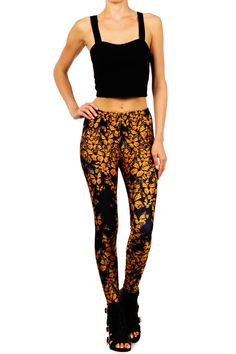 Attack of the Monarch Butterflies Leggings | POPRAGEOUS