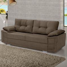Conforto, bem-estar e ainda, uma sala mais bonita. O sofá é peça essencial!