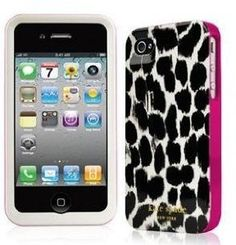 Premium Kate Spade Leopard 3 layers hard Case for iPhone 4 from Kate Spade - kate spade iphone case