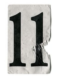 11 is a master number symbolizing the awareness that we are a spirit in a body having a human experience