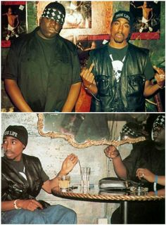 #Biggie and #Tupac.