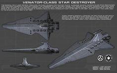 Venator Class Star Destroyer [2][New] by unusualsuspex on DeviantArt