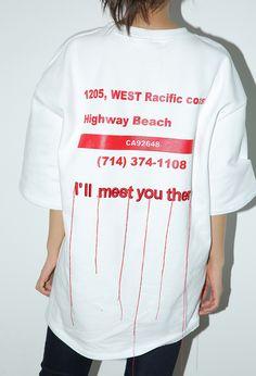 Frayed Embroidery Statement T-Shirt   STYLENANDA