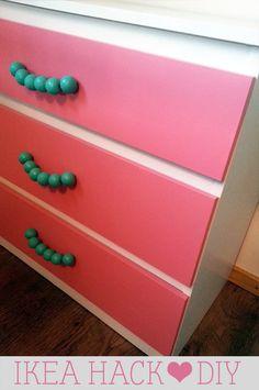 Ikea hack fun dresser DIY