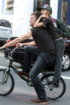 Norman & Mingus Reedus..... possibly best pic ever