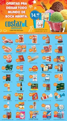 Encarte Supermercado Costa Azul  #de16a29janeiro2017 #facebairro #fb
