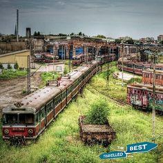 Abandoned train depot #Czstochowa #Poland
