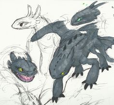 Toothless Toothless Drawing, Hiccup And Toothless, Httyd, Dragon Poses, Night Fury Dragon, Magnificent Beasts, Dragon Rider, Godzilla, Beautiful Dragon