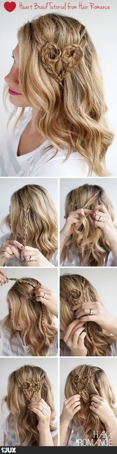 Hair tutorial Heart... this. is. JUST. BEAUTIFUL. <3