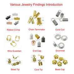 Various Jewelry Findings Introduction