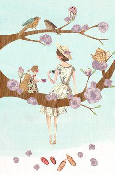 Mothers Day Cards - Emma Block Illustration
