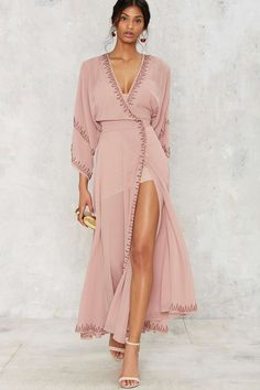 The Jetset Diaries Las Perlas Kimono Dress | Shop Clothes at Nasty Gal!