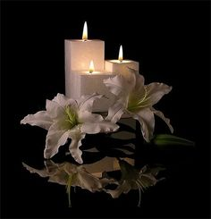 Good Night my Dearest Friends - Top Foto Beautiful Candles, Beautiful Flowers, Unique Candles, Candle Lanterns, Pillar Candles, Star Candle, Candle Magic, Angel Prayers, Scented Candles