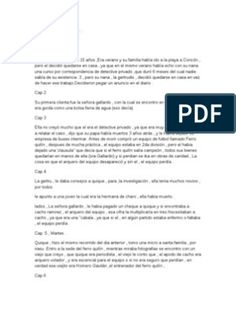 Resumen Quique Hache Detective Control, Social, Detective, Texts, World, Types Of Jellyfish, Text Types, Gull, Summary
