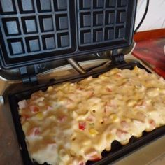 Brunch, Waffle Iron, Healthy Desserts, Kids Meals, Macaroni And Cheese, Food Photography, Food And Drink, Appetizers, Cooking Recipes