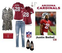 WOMEN Arizona Cardinals Justin Bethel Jerseys