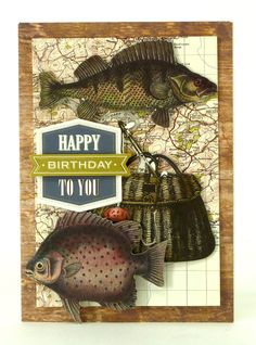 © Anna Griffin, Inc. Cards for Him Too Card Kit- Complete with everything you need to make masculine cards for the fisherman, sports fantatic or fabulous dad. Includes sentiments for all occasions from birthday to Father's Day!