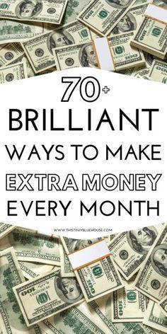 ways to save money frugal living Make Money Fast, Ways To Save Money, Make Money From Home, Money Tips, Money Saving Tips, Make Money Online, Work From Home Opportunities, Work From Home Jobs, Extra Cash