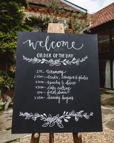 Love this order of the day sign from @thelittlelendingco |  by @beccygoddard