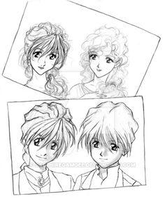 Gundam Wing Cousins by SapphireGamgee