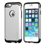 iPhone 6 Case, LUVVITT® ULTRA ARMOR iPhone 6 Case / Best iPhone 6 Case for 4.7 inch Screen Air   Double Layer Shock Absorbing Silver iPhone 6 Case Cover (Does NOT fit iPhone 5 5S 5C 4 4s or iPhone 6 Plus 5.5 inch screen) - Black / Silver - http://wp.me/p4ZNgm-DU -  LUVVITT® ULTRA ARMOR TPU shock absorbing core, supported by a hard outer shell. The hybrid combo hugs each and every corner of your iPhone 6. The result is a high-end, extremely durable protection without sacrifi