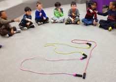 Learning to read music with Kindergarten students! Fun and simple activity from Stay Tuned music teacher! - squiggles