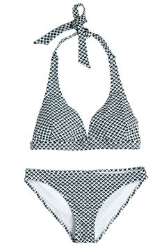 Take our quiz to discover your Spirit Print! Love Drop Printed Halter Bikini.