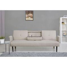 Gold Sparrow Cambridge Ash Convertible Sofa Bed Grey