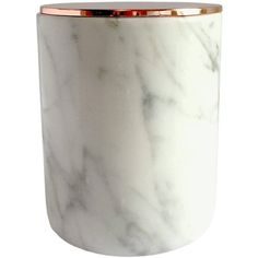 The Lane London - Luxury Marble Soy Candle White Jasmine ($78) ❤ liked on Polyvore featuring home, home decor, candles & candleholders, white votive candles, jasmine scented candles, orange blossom candle, soy candles and scented votive candles