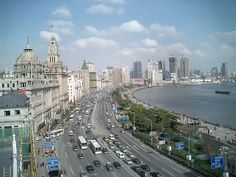 Shanghai's Bund. Shanghai is a great international and cosmpolitan city. But coming from Shandong province, I never felt comfortable here.