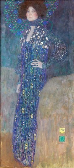 "beautifulcentury:  "" Gustav Klimt (July 14, 1862 – February 6, 1918) was an Austrian symbolist painter and one of the most prominent members of the Vienna Secession movement.  Emilie Louise Flöge (1874–1952) was an Austrian fashion designer, and..."