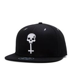 376c1a7cb3e13 NO RELIGON Skull and Cross Snapback www.Stokedvillellc.bigcartel.com Cheap  Caps
