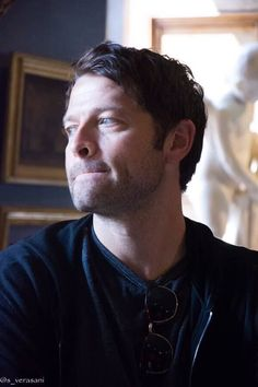 What a sweetheart ❤️ #MishaCollins