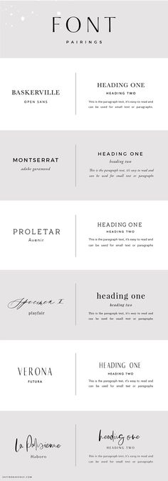 6 Cool Font Combinations for a Magnificent Business Website [Infographic]