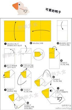 duck origami