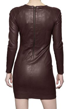 this is a  stylish casual leather dress, for any nice saturday event - Leather69.com