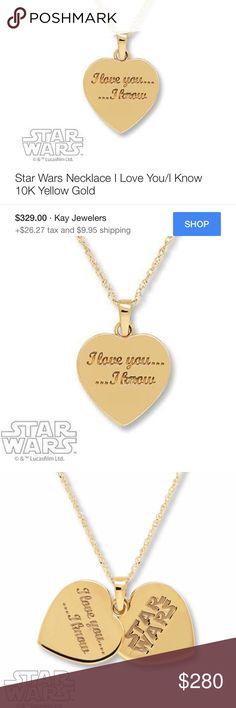 Star Wars necklace Brand new Kay Jewelers Jewelry Necklaces