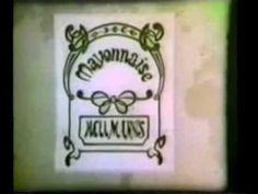 Comercial Mayonesa Hellmann's 1960's - YouTube