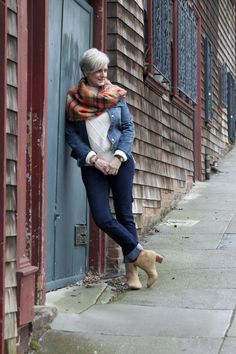 trends come and go, but true style is ageless — <outfit post> weekend gear: denim @AnnTaylor;...